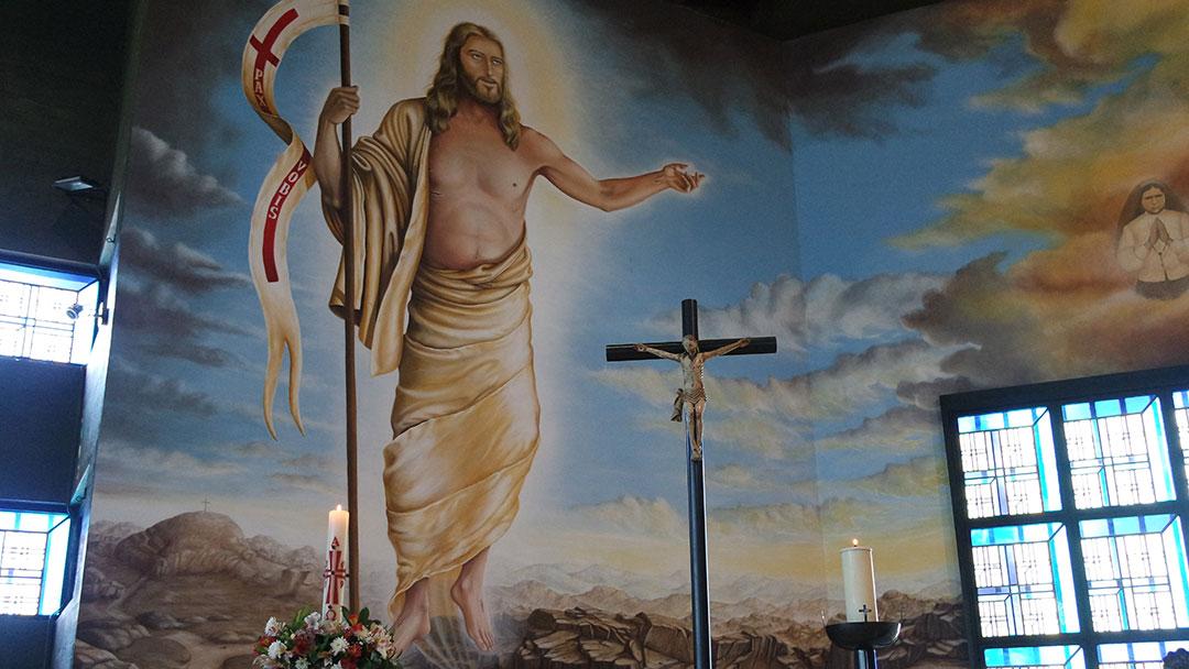 Ressuscitou! Dá-nos a Sua Vida sem fim…